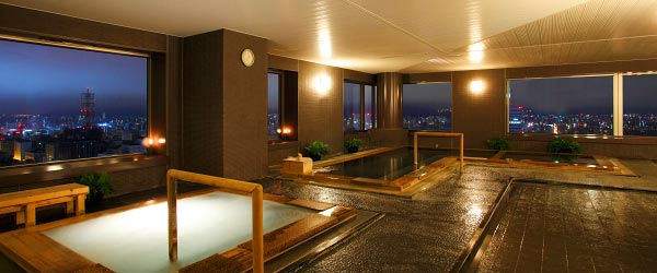 image:Blissful Moments at Hotel Baths / JR Tower Hotel Nikko Sapporo