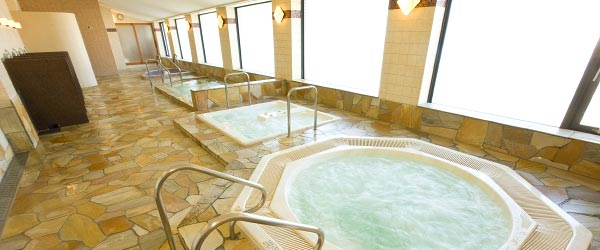 image:Blissful Moments at Hotel Baths / Okura Chiba Hotel