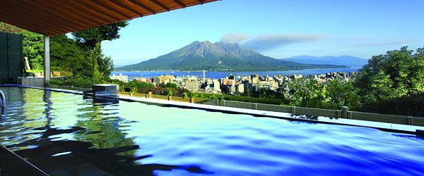 image:Blissful Moments at Hotel Baths / Hotel Shiroyama Kagoshima