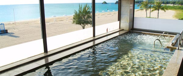 image:Blissful Moments at Hotel Baths / JAL Private Resort Okuma