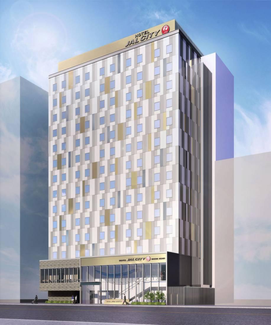 外観イメージ(パース画像):ホテルJALシティ名古屋 錦