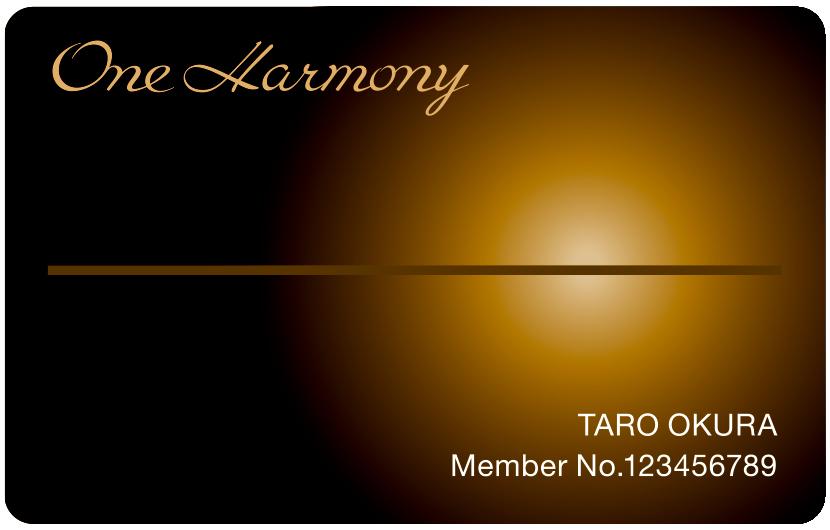 イメージ:One Harmonyカード/メンバー