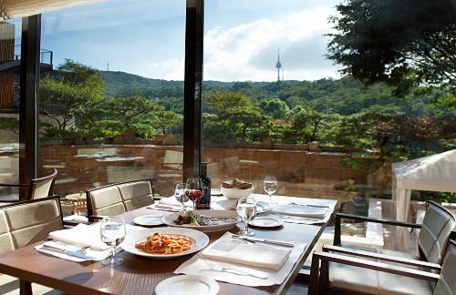 イメージ:ソウル新羅ホテル・朝食レストラン