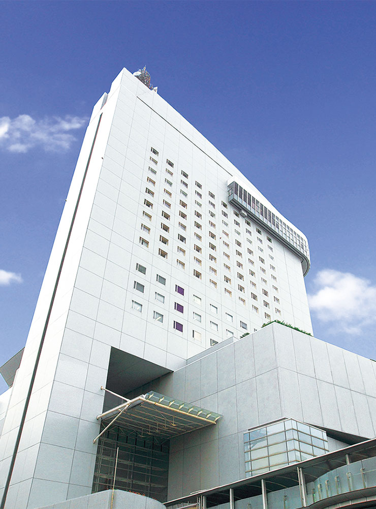 外観画像:「ホテル日航大分 オアシスタワー」