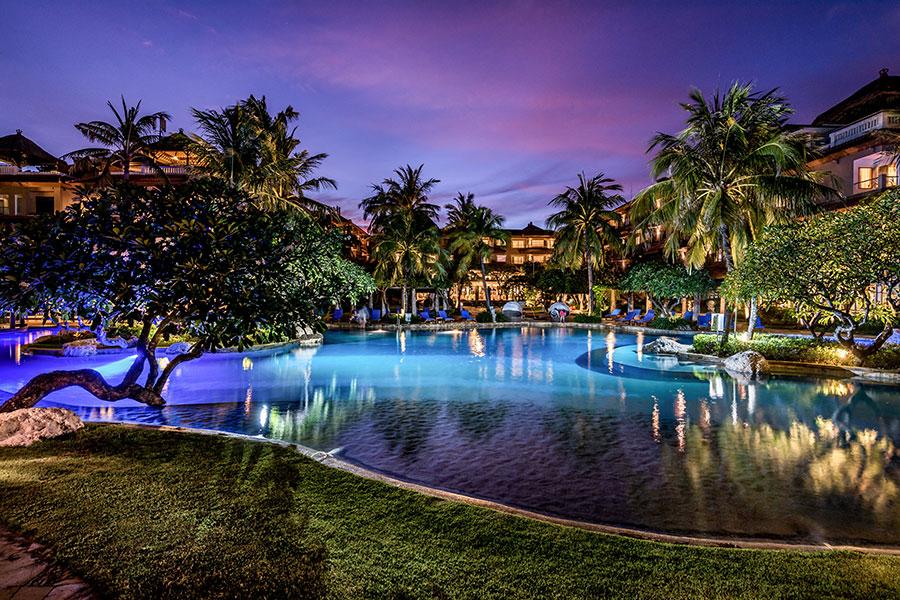 image:lagoon swimming pool - Hotel Nikko Bali Benoa Beach