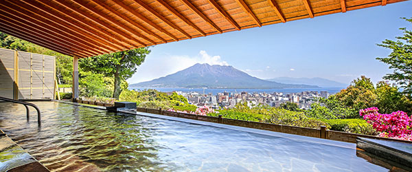 image:Blissful Moments at Hotel Baths / SHIROYAMA HOTEL kagoshima