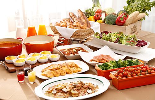 ホテル日航ノースランド帯広「レストランJ」朝食バイキング