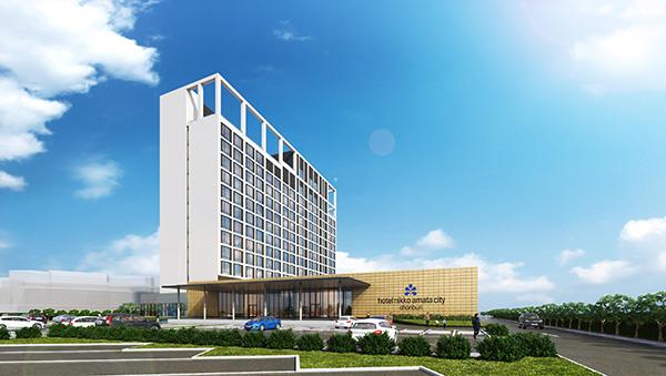 イメージ:『ホテル・ニッコー・アマタシティ チョンブリ』完成予想図