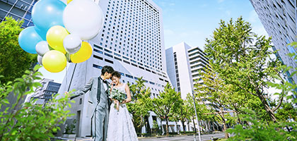 オークラウェディング:「ホテル日航大阪」の結婚式