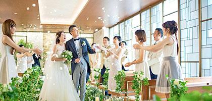 オークラウェディング:「ホテル日航立川 東京」の結婚式
