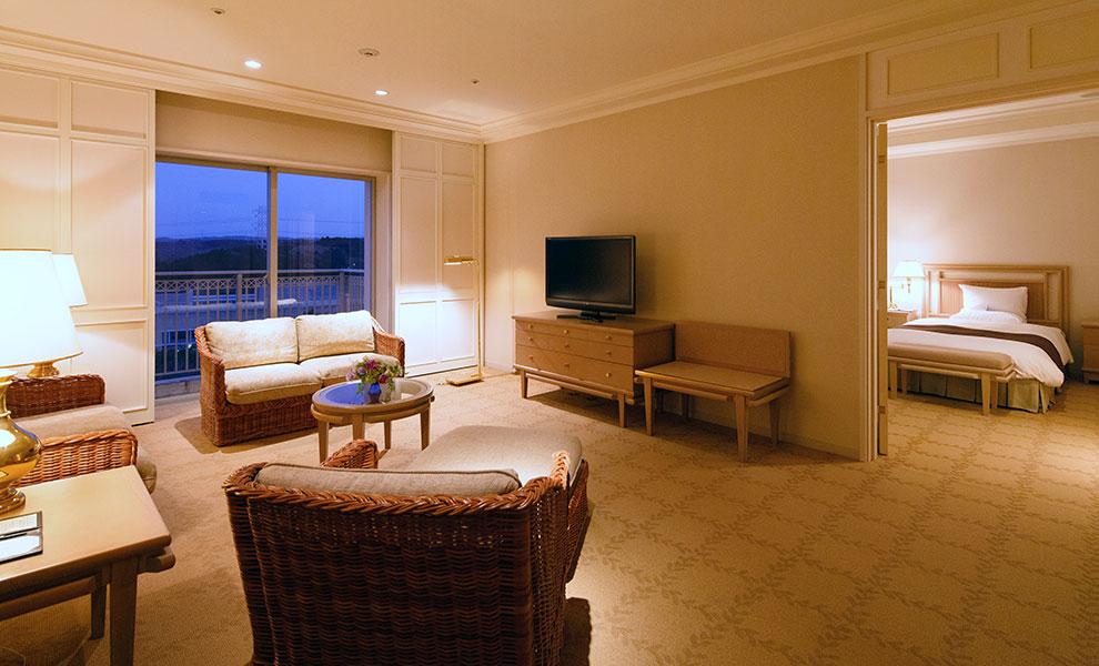 オークラ アカデミアパーク ホテルで癒しのステイケーション