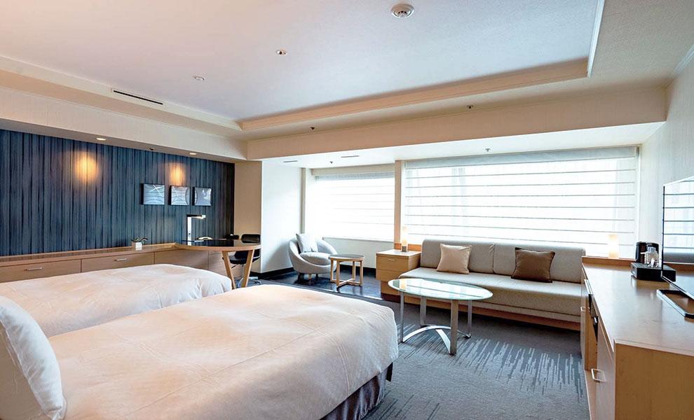 ホテル日航大阪で癒しのステイケーション