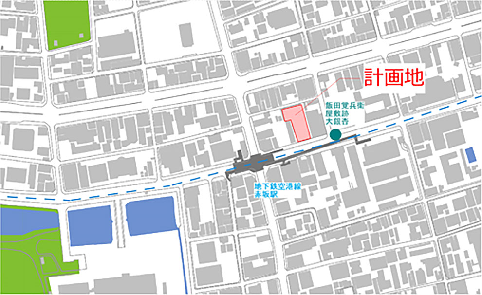 イメージ:『ホテルJALシティ福岡 天神』地図