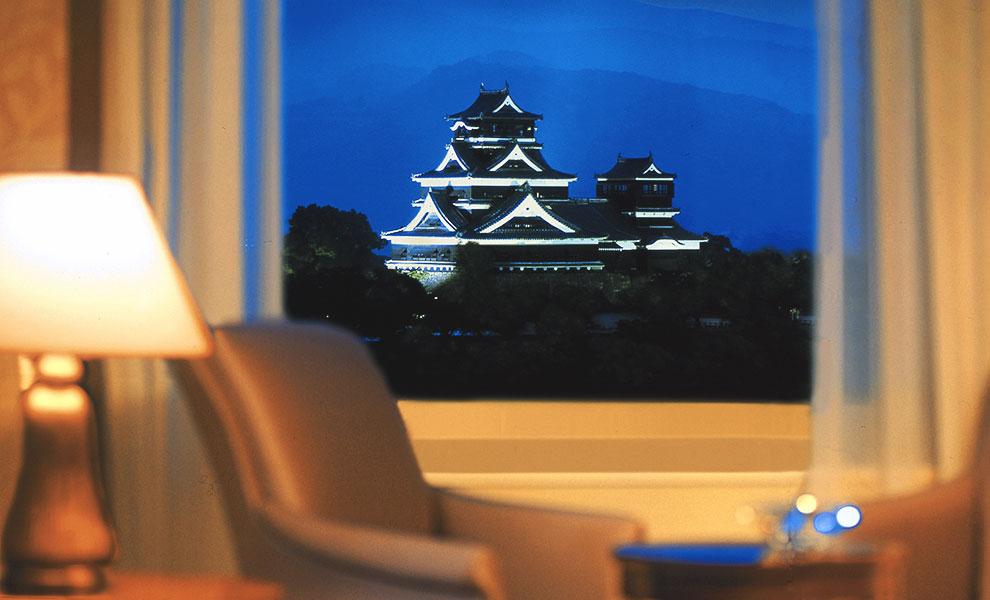 ホテル日航熊本で癒しのステイケーション