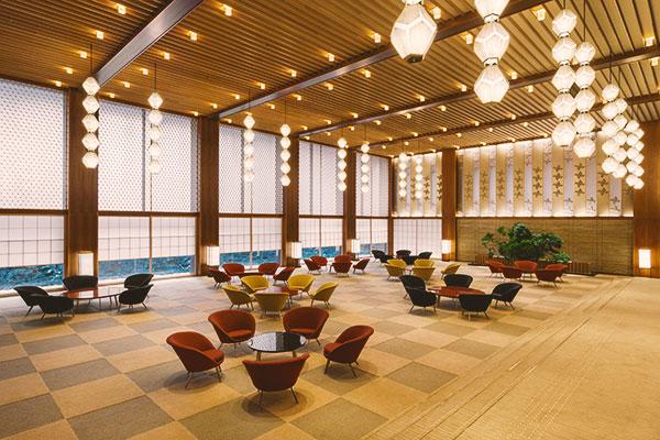 The Okura Prestige Tower main lobby