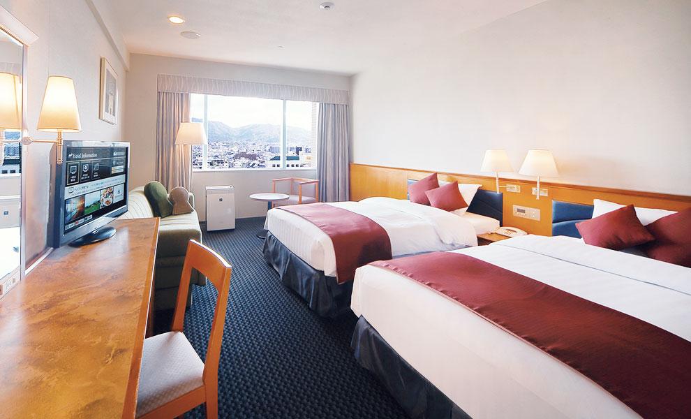ホテル日航奈良で癒しのステイケーション