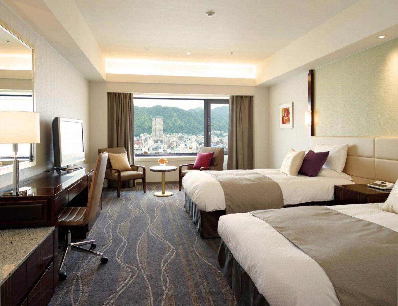 客室–ホテルオークラ神戸